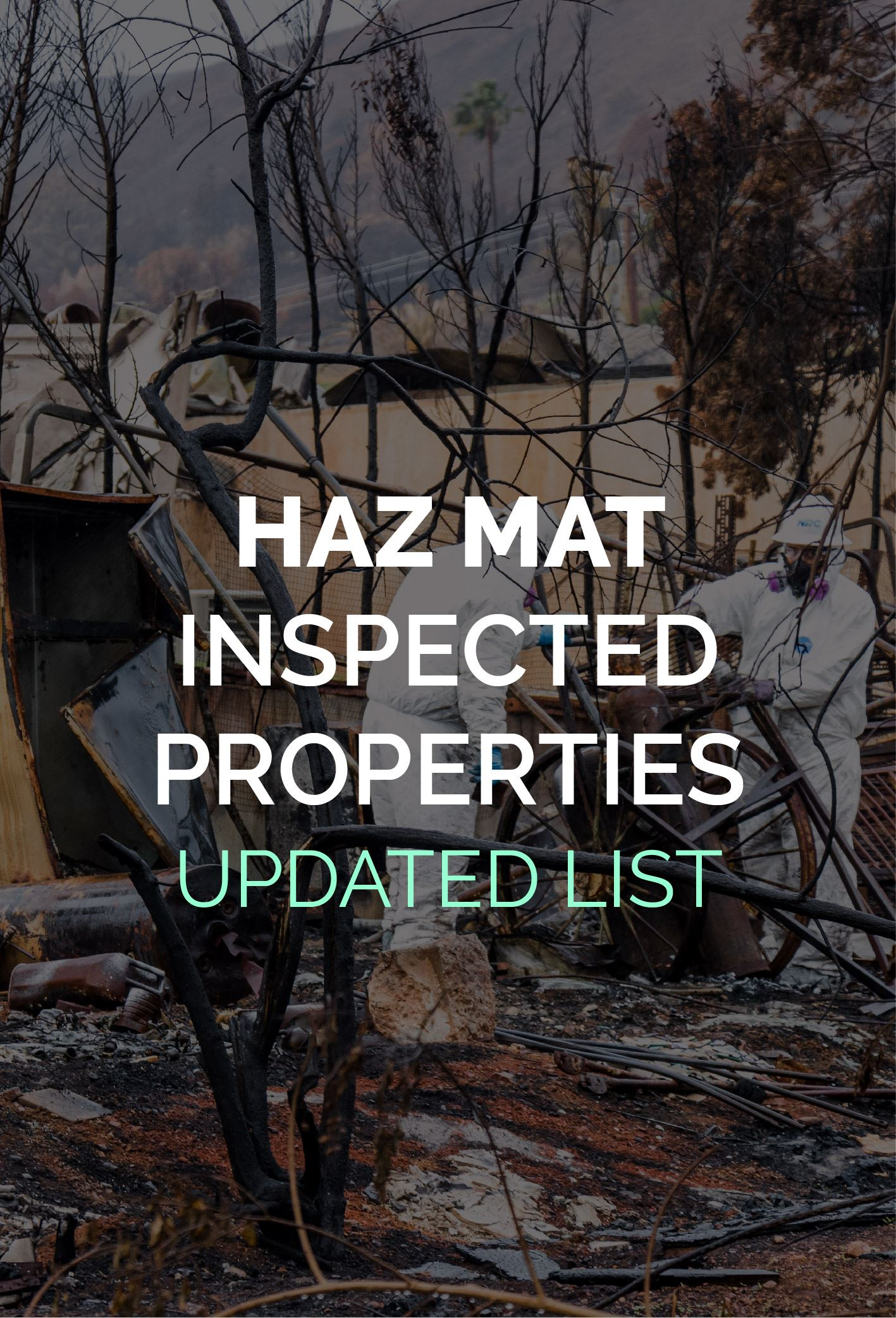 HazMat Inspections List