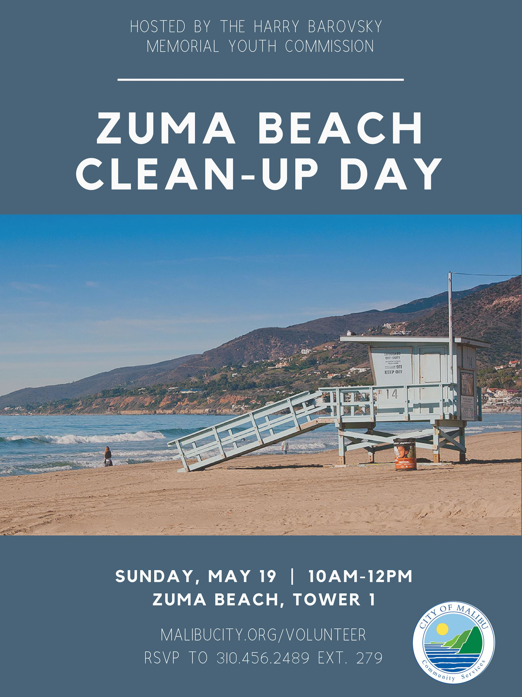 Zuma Beach Clean Up 5.19.19