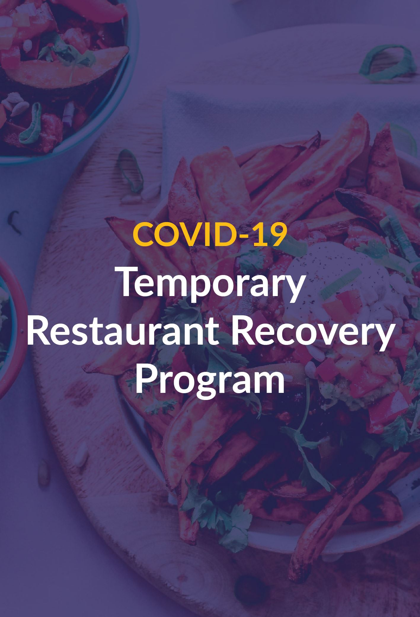 Restaurant recovery program Newsflash