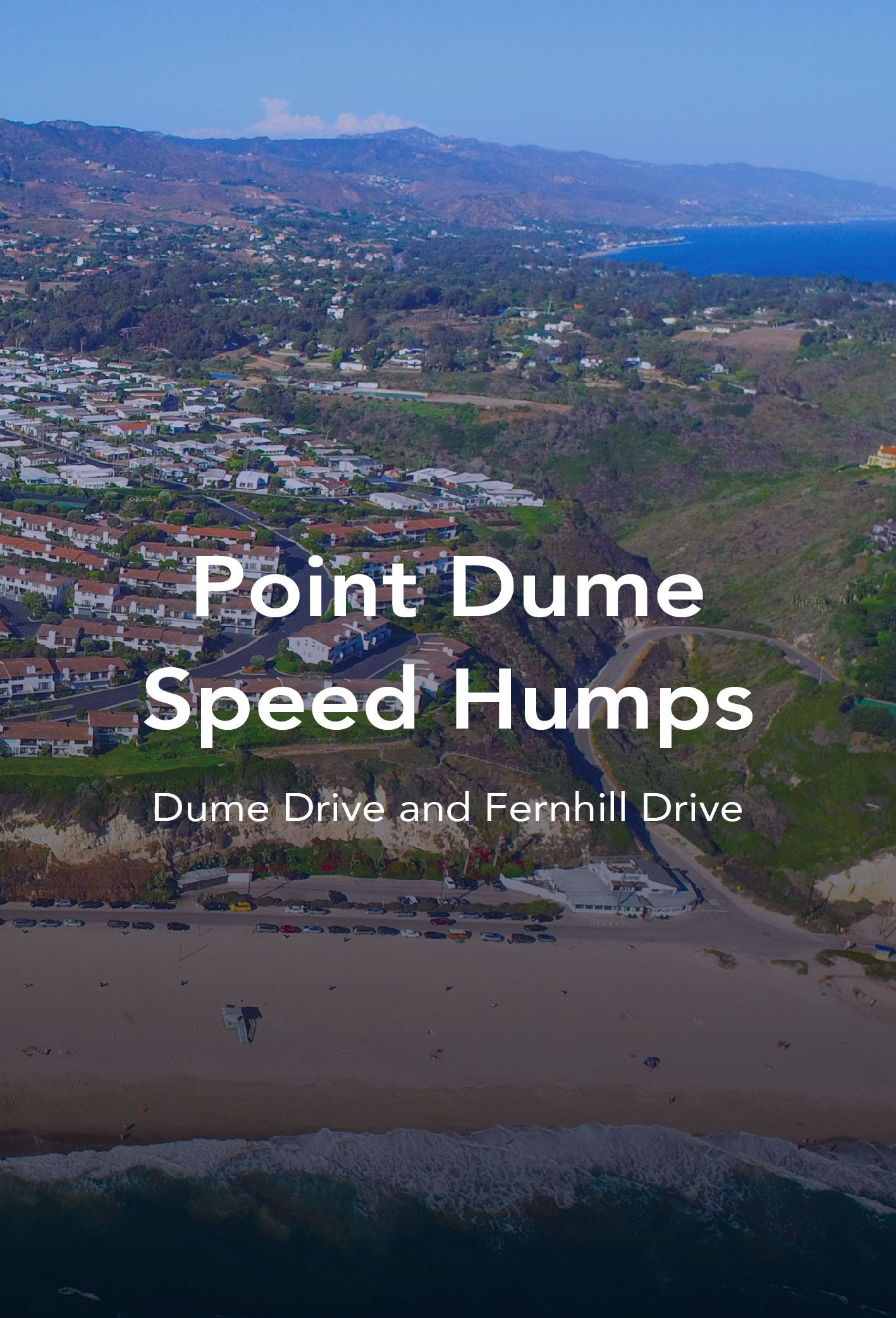 Point dume speed humps newsflash-02