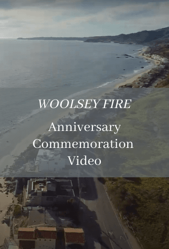 Woolsey Fire Anniversary Commemoration Video