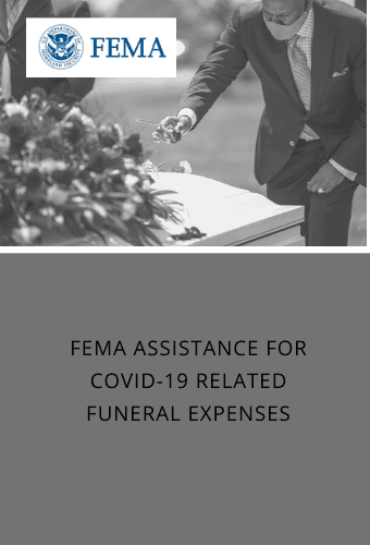 FEMA funeral assistance newsflash