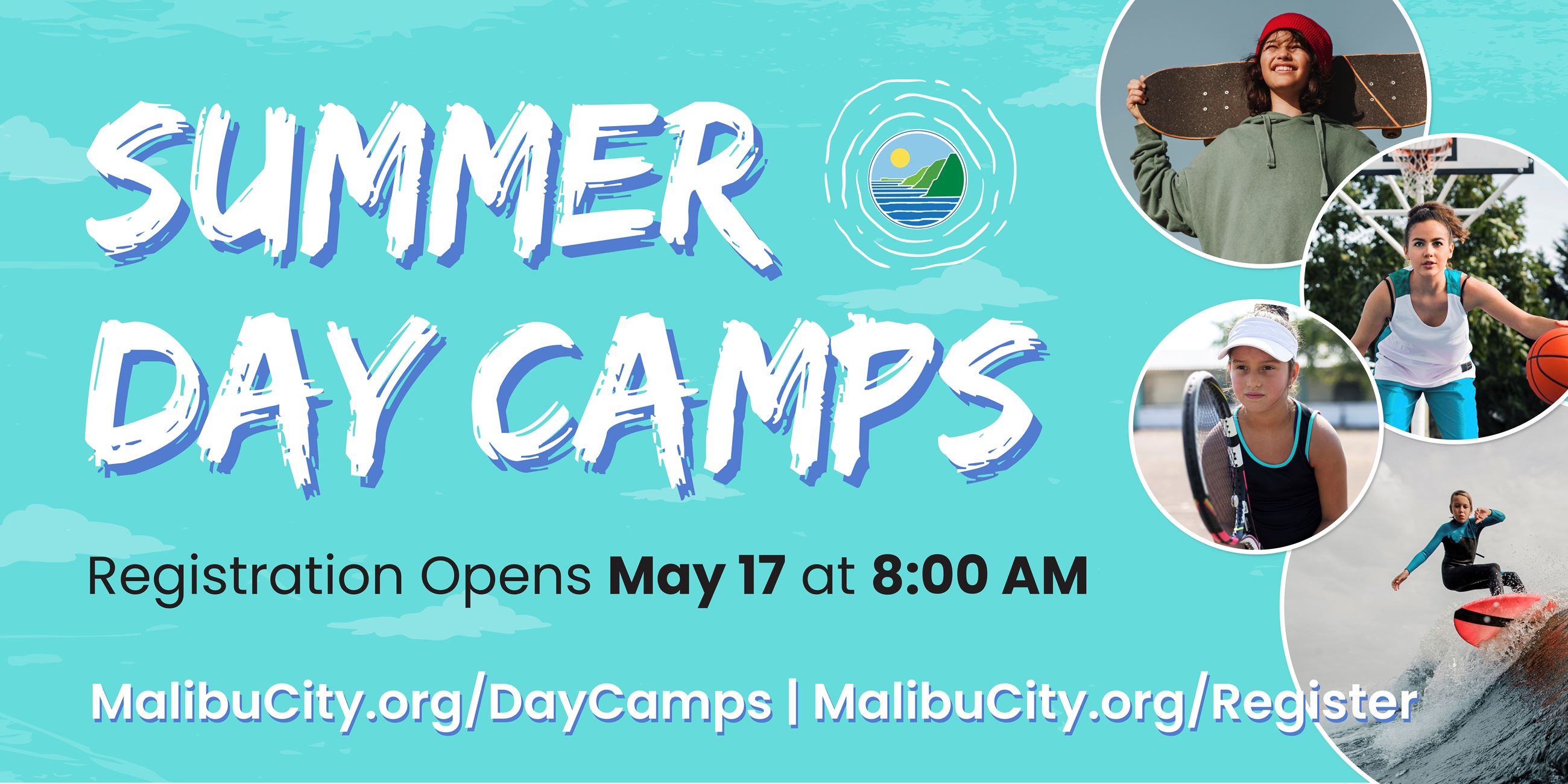 Summer day camps banner