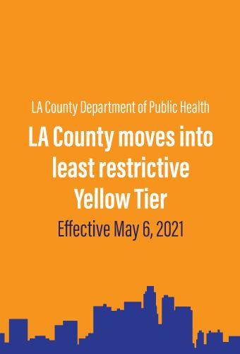 LA County Revised Health Officer Order of May 5, 2021