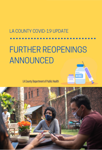 la county covid openings newsflash 5.12.21