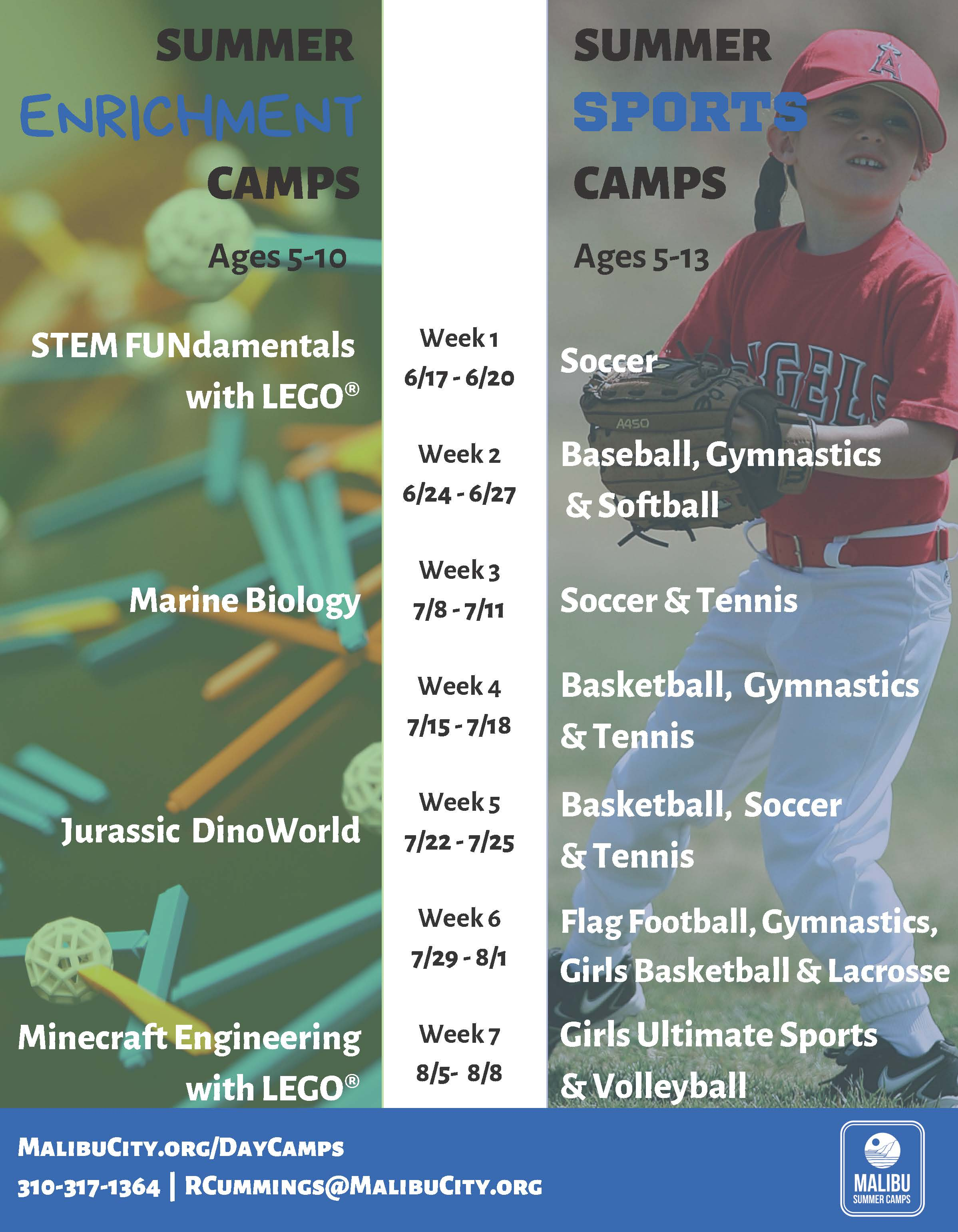Day Camps Flyer